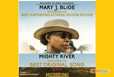 EW: Mary J. Blige on her two Golden Globe nominations for Mudbound: 'I woke up screaming'
