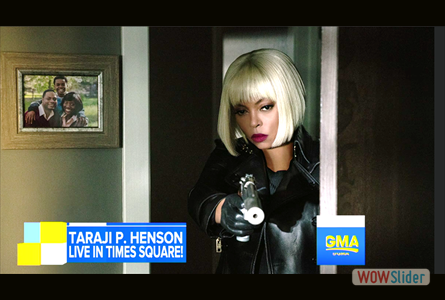 GMA: Taraji Henson talks about her starring and producing role in Proud Mary